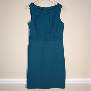 TALBOTS Teal Dress Wool